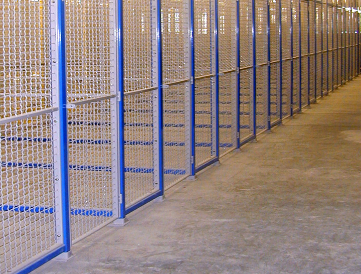 woven wire mesh systems