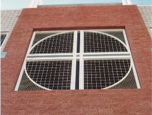 wire mesh infill panels