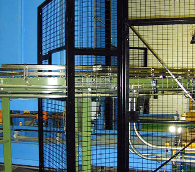 wire mesh machine fencing applications