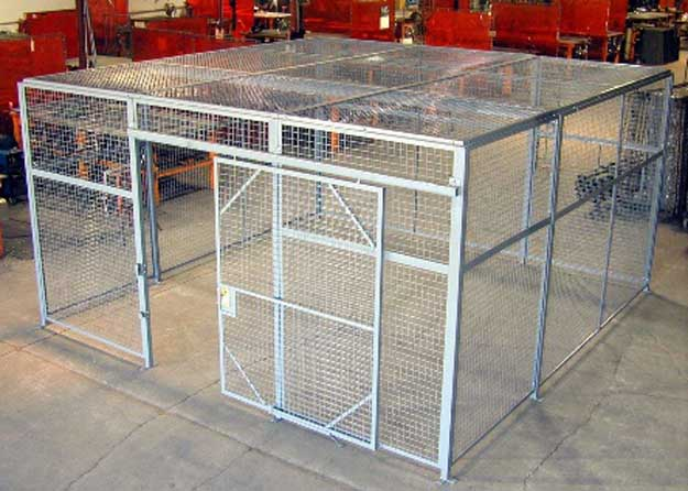 Evidence wire cages