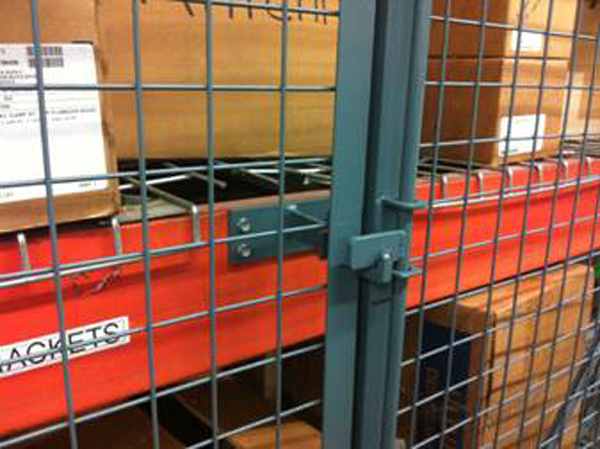 wire mesh pallet racking protectors