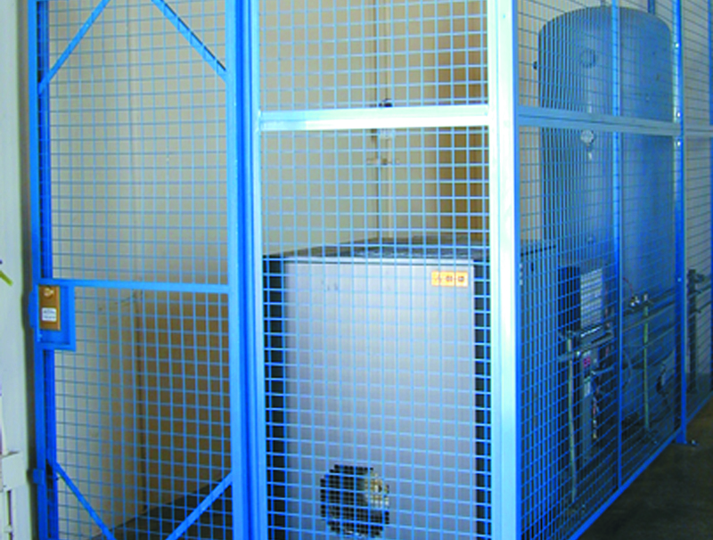 Welded Wire Mesh - Blue