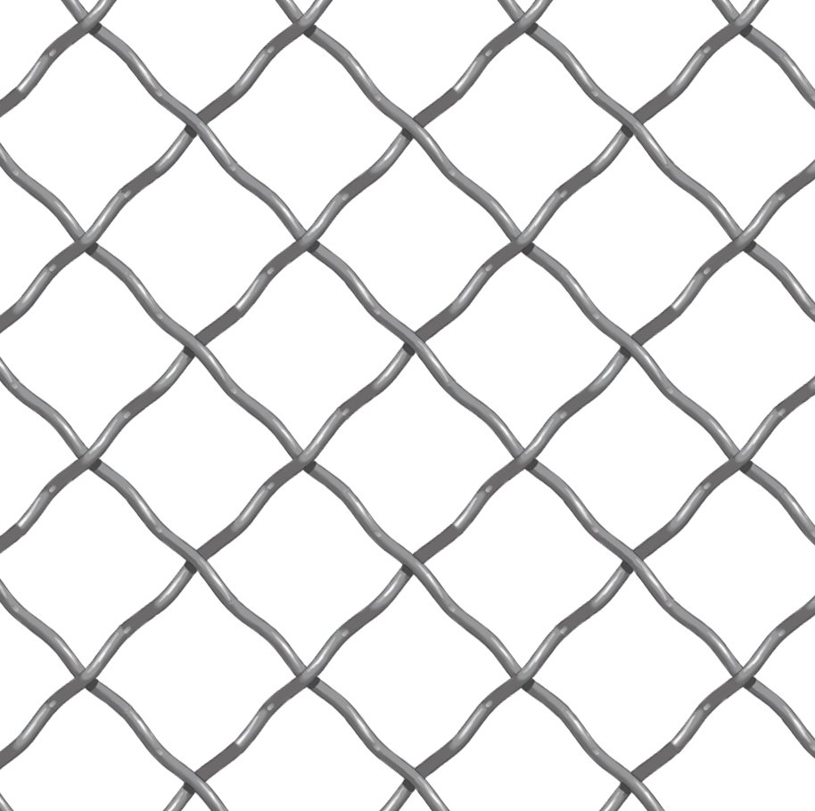 Diamond Weave Wire Mesh - 1 ½\