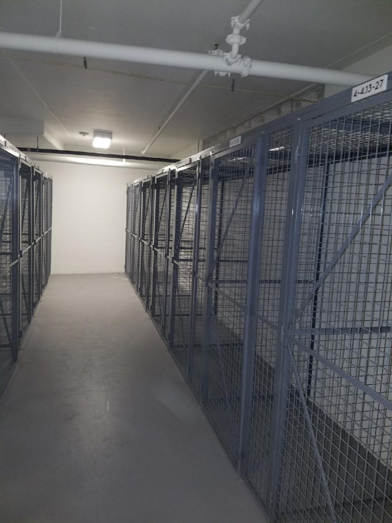 Wire Storage Cages - Computer Security