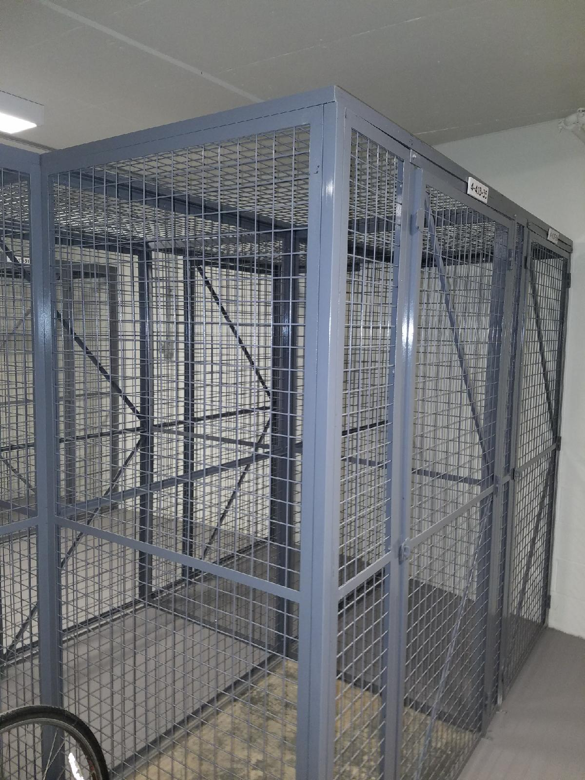 Wire Storage Cages